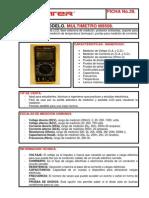 FICHA28(M9508)MULTIMETRO
