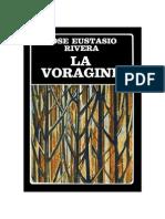 PROLOGO La Vorágine