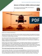 Bilderberg's silent takeover of Britain's $60bn defense budget