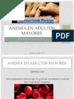 Anemia en Adulto Mayor