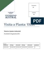 Visita a Planta VASA 2011.Doc