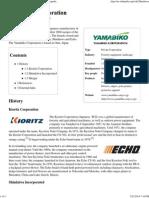 Yamabiko Corporation - Wikipedia, The Free Encyclopedia