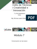 Curso Desarrollo de Técnicas de Creatividad e Innovación %28módulos 7 y 8%29