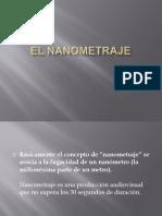 El nanometraje.ppt