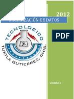 4to Organizacion de Datos UNIDAD II