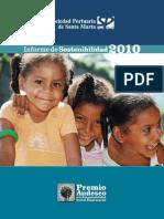 Informe de Sostenibilidad SPSM-2010