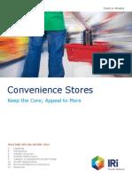 Convenience Stores Consumer, Category (IRI May 2013)