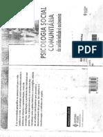 LIVRO Psicologia Social Comunitaria