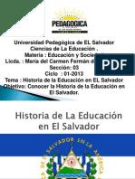 historiaeducacionenelsalvador-130308151233-phpapp02
