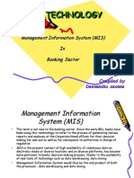 Management Information System (MIS) in Banking Sector