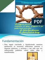 Presentacion Profesores Trabajo en Equipo (2013)