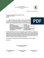 Carta Corporacion