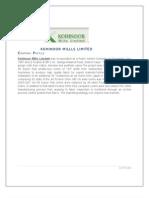 Kohinoor Millls Limited