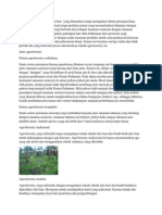 Agroforestry poltan
