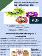 Infección-Enfermedades Transmitidas Por Agua - Alimentos y Aire
