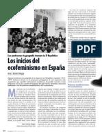 Los Inicios del ecofeminismo en España