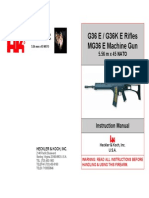 HK G36 Assault Rifle Manual