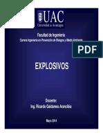 UAC Clase (EXPLOSIVOS) Parte 1 Alumnos