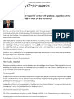 Grateful in Any Circumstances - Dieter F. Uchtdorf