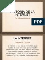 LA HISTORIA DE LA INTERNET