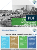 MassDOT Allston Interchange Improvement Project - Task Force meeting #2 presentation
