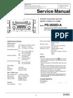 Clarion Ps2656da