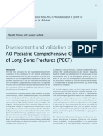 Ao Pediatric Comprehensive Classification Long Bone Fractures