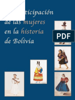 Coordinadora de La Mujer - La Participación de Las Mujeres en La Historia de Bolivia