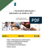 PNIIS - Seminário Gestão da Informação e Conhecimento em Saúde - 2010 - Loyola