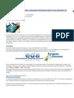 Proyecto Piloto de Acer y European Schoolnet Sobre El Uso Educativo de Tabletas