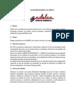 Empresa Adelca
