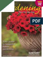 Suntory Gardening Guide