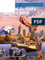 Monash Sustainability Institute - Annual Activity Report 2013
