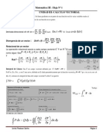 UNIDAD III Matemática III Formulario y Tarea