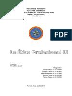 La Ética Profesional - Leyes!