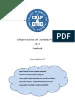 crlp handbook 2013-2014