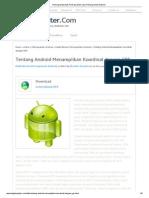 Pemrograman Web, Pemrograman Java, Pemrograman Android