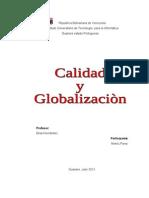 Calidad y Globalizacion