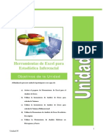 Curso Excel Estadistico Unidad 4
