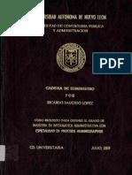 Cadena de Suministro - Saucedo