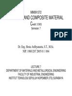 Perkuliahan 7 Material Polimer Dan Komposit