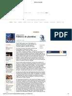 Políticos de plastilina, por Anibal Romero