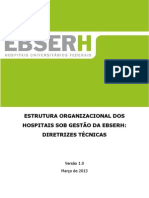 Estrutura Organizacional Orientações Técnicas 26-03-2013 1