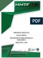Proposal Jumat Sehat Revisi,Revisi Dan Revisi Lagi