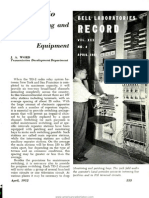 Bell Laboratories Record 1952 04