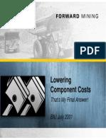 PCC - Costos Componentes