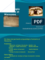 Arqueologia funerària al Maresme (Catalunya)