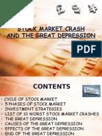 Stock Market and great depression presentation