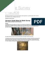 Marine Survey Practice