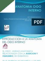 Anatomia Oido Interno Nefi Ochoa Ppt - Copia